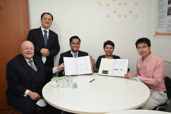 Signing of Memorandum of Understanding Black Suit Media & Yayasan Chow Kit